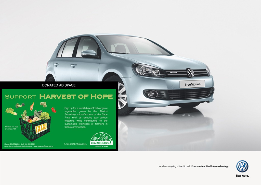 Volkswagen BlueMotion: Donated Space – Blogilvy