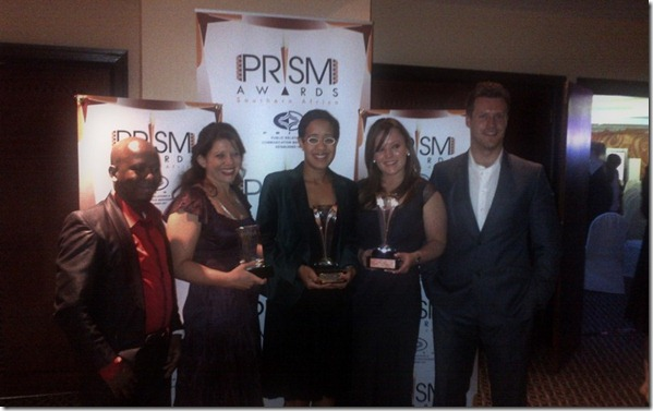 Carling Black Label Team with PRISM Awards