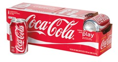Coke fridge pack