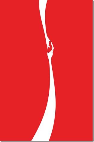 coke hands poster