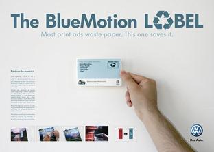 Bluemotion Label Direct-Promo-Media