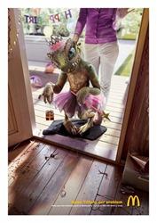 Mcdonalds Monster Tiffany