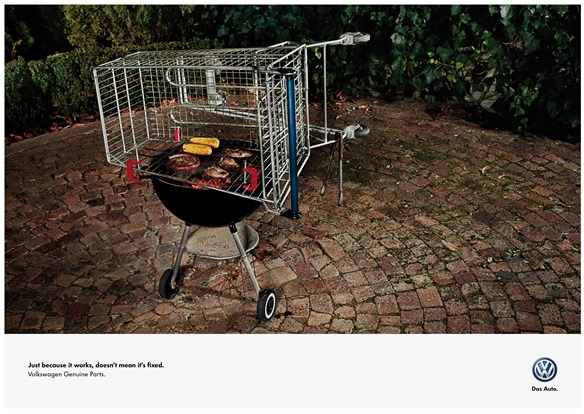VW Genuine Parts Barbeque