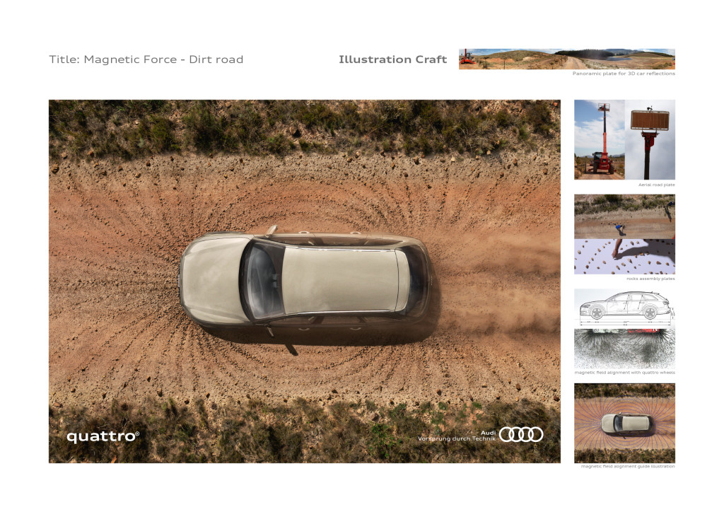 Audi Quattro - Dirt Road Craft