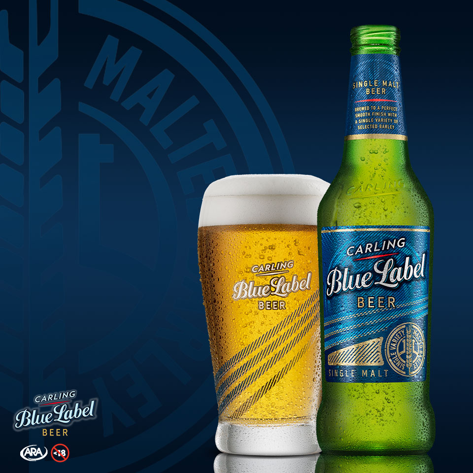 Carling Blue Label - Bold Taste Rich Reward 2