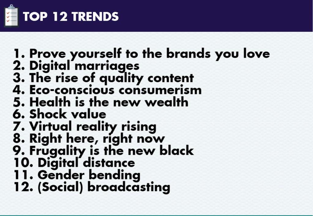 Trends 2016 2